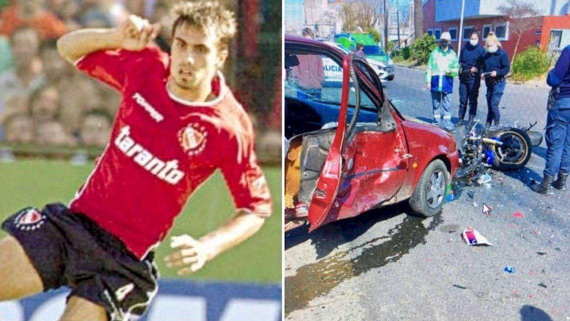 Atropellaron y mataron a un exjugador de Independiente.