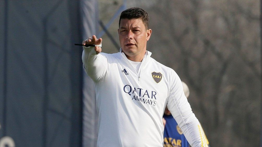 Sebastián Battaglia promueve cambios en la formación titular de Boca Juniors