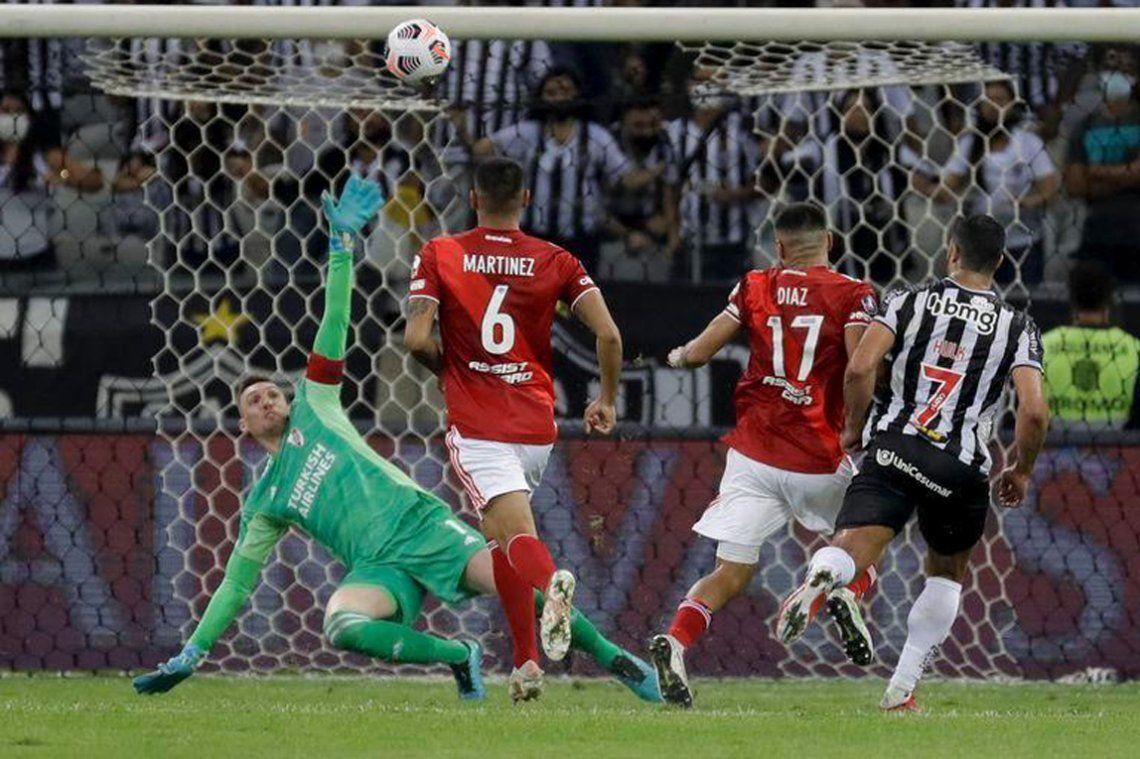 Las mejores fotos de la goleada de Mineiro a River por la Copa Libertadores