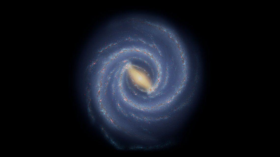Astrónomos de la NASA encuentran una ruptura en la Vía Láctea