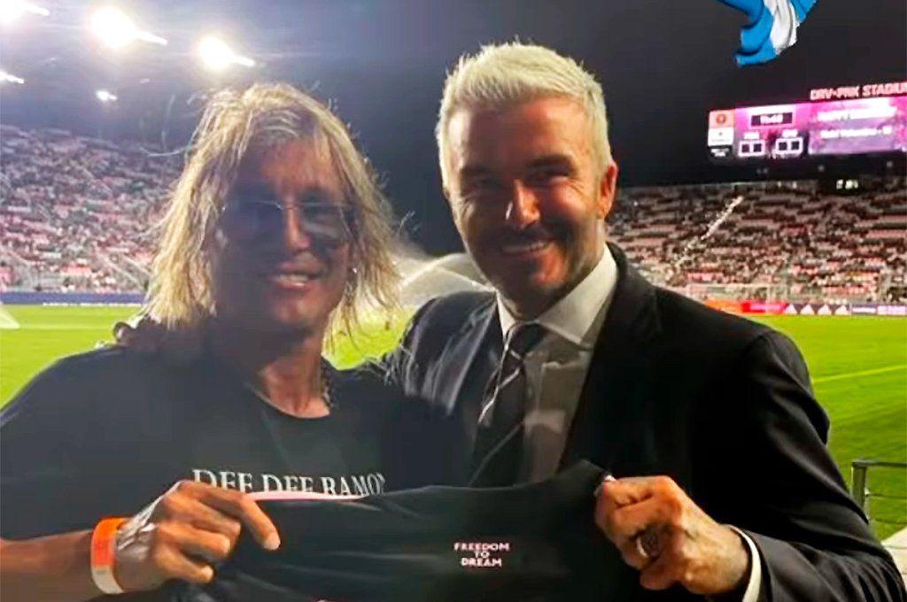 Caniggia y Beckham