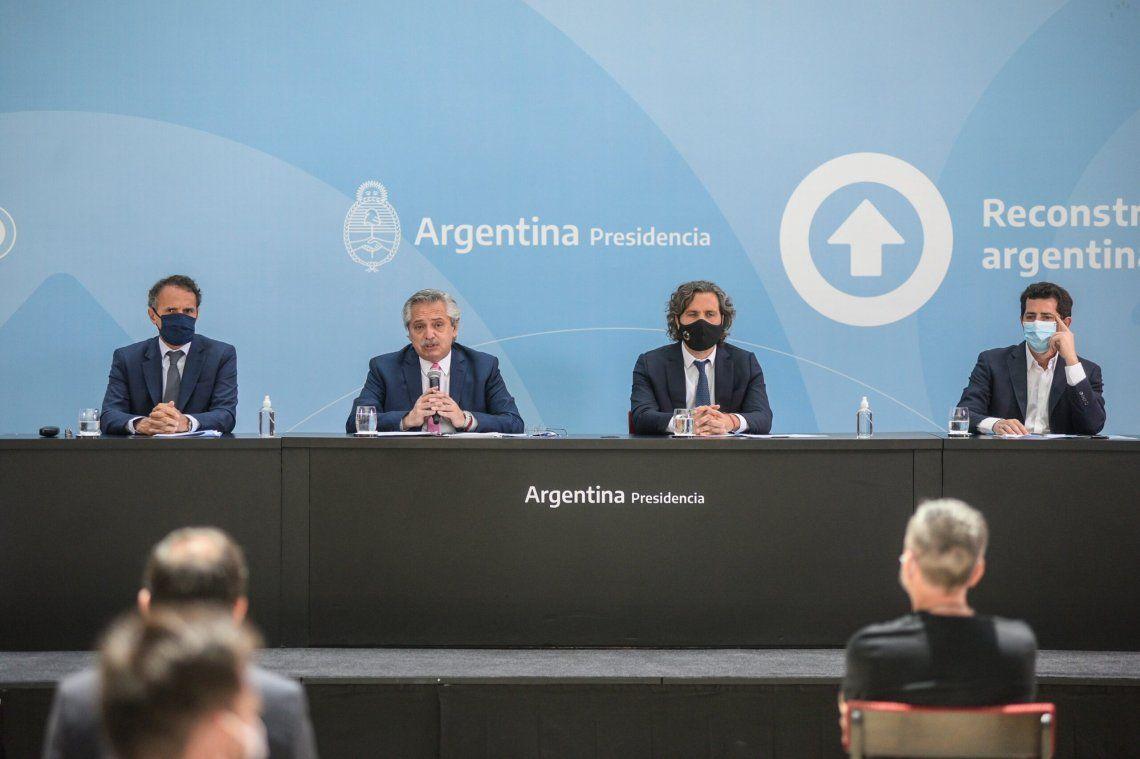 Alberto Fernández encabeza la primera reunión de gabinete