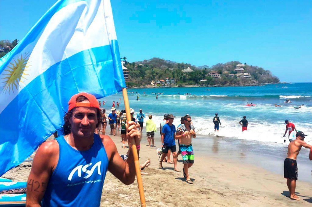 Di Pace tenía 48 años y pasaba gran parte de su año en diferentes playas practicando el deporte que más le gustaba.