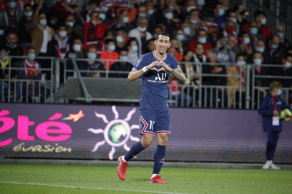 Ángel Di María marcó un golazo para el PSG