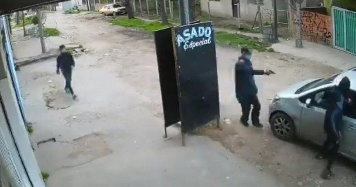 Violento episodio en Rafael Castillo.