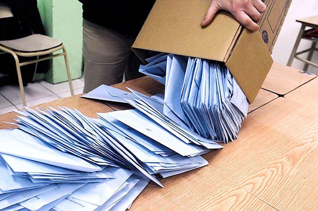Se realizará hoy un simulacro de elecciones para probar el sistema de escrutinio