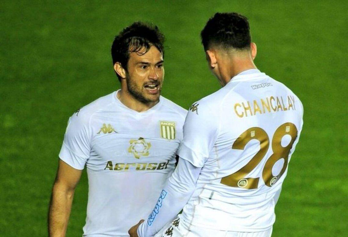 Darío Cvitanich y Tomás Chancalay