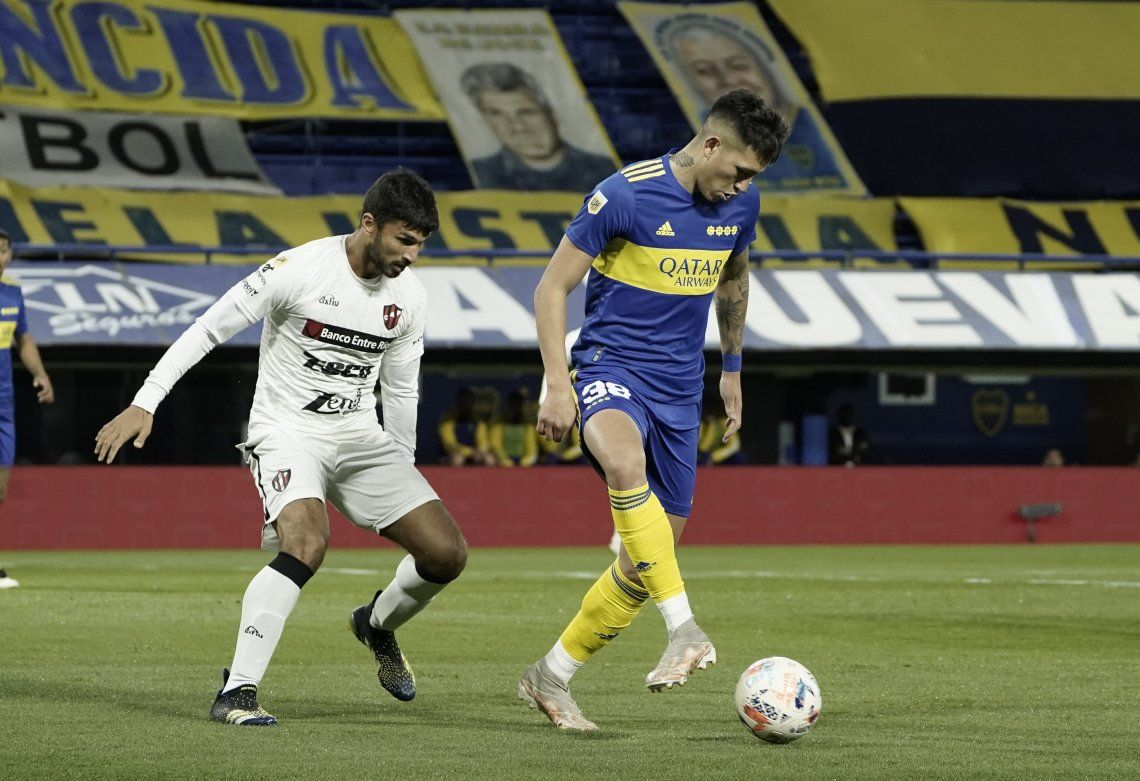Boca venció a Patronato 1-0 en el inicio de la era Battaglia