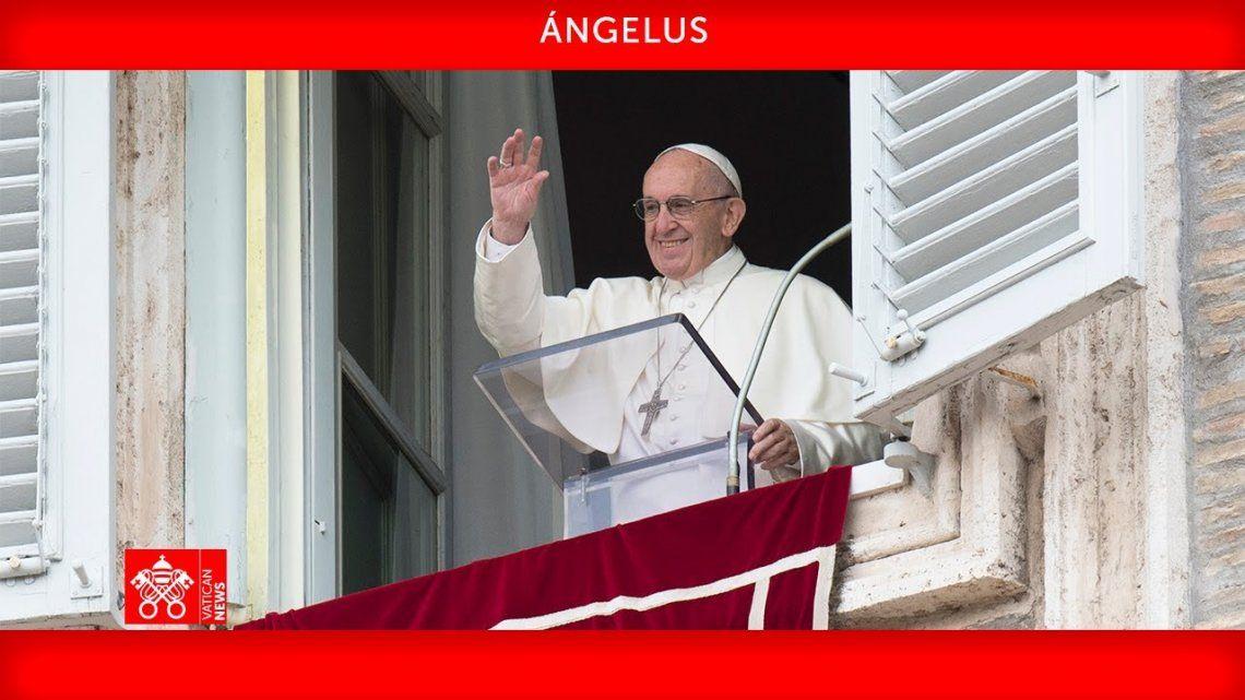 El Papa Francisco llamó a reconocer a Dios en las personas