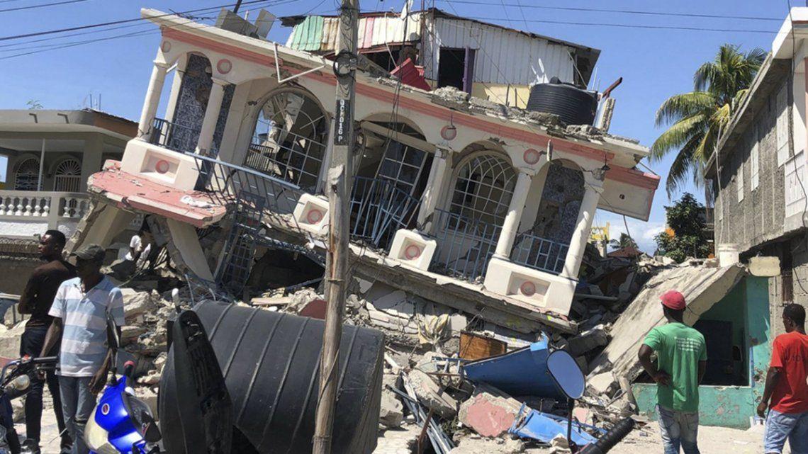 12.268 personas resultaron heridas y casi 53.000 viviendas quedaron destrozadas luego del sismo ocurrido el 14 de agosto en Haití.