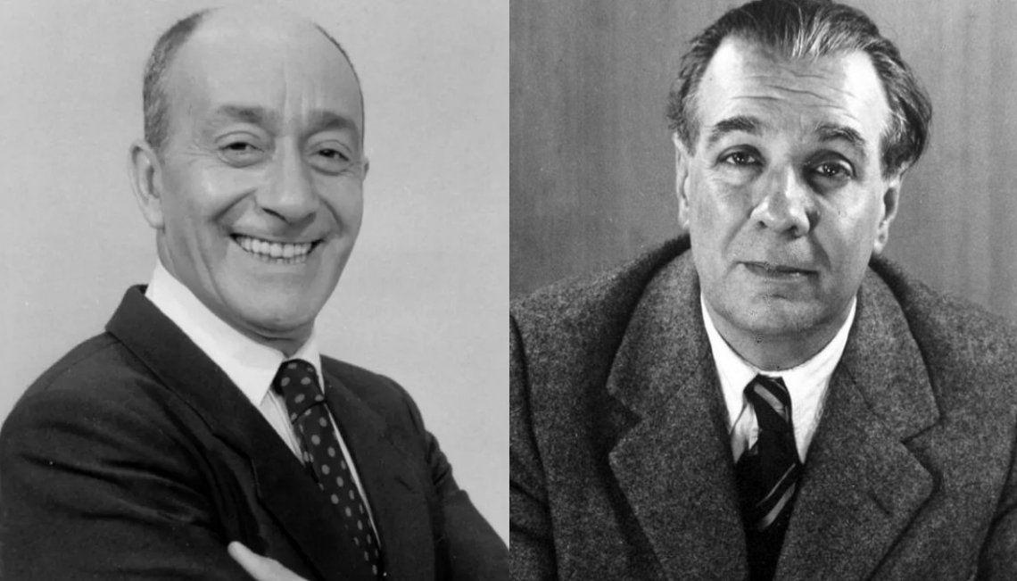 Se celebran los natalicios de dos glorias de la argentinidad: Jorge Luis Borges y Alberto Olmedo
