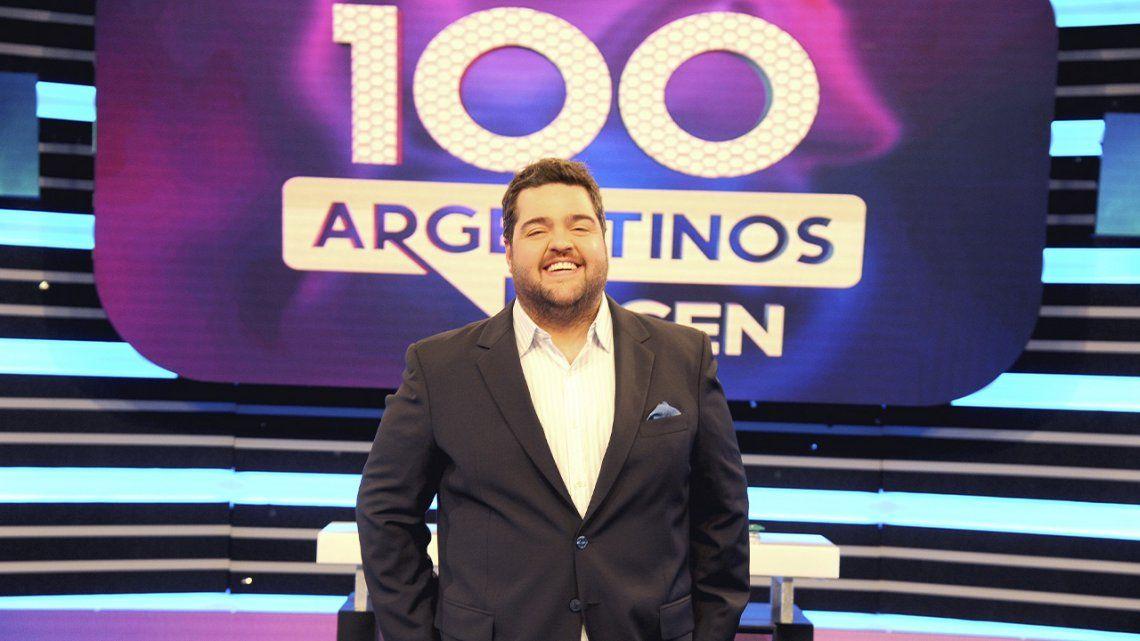 Rating: Darío Barassi se metió el top 5 por primera vez.