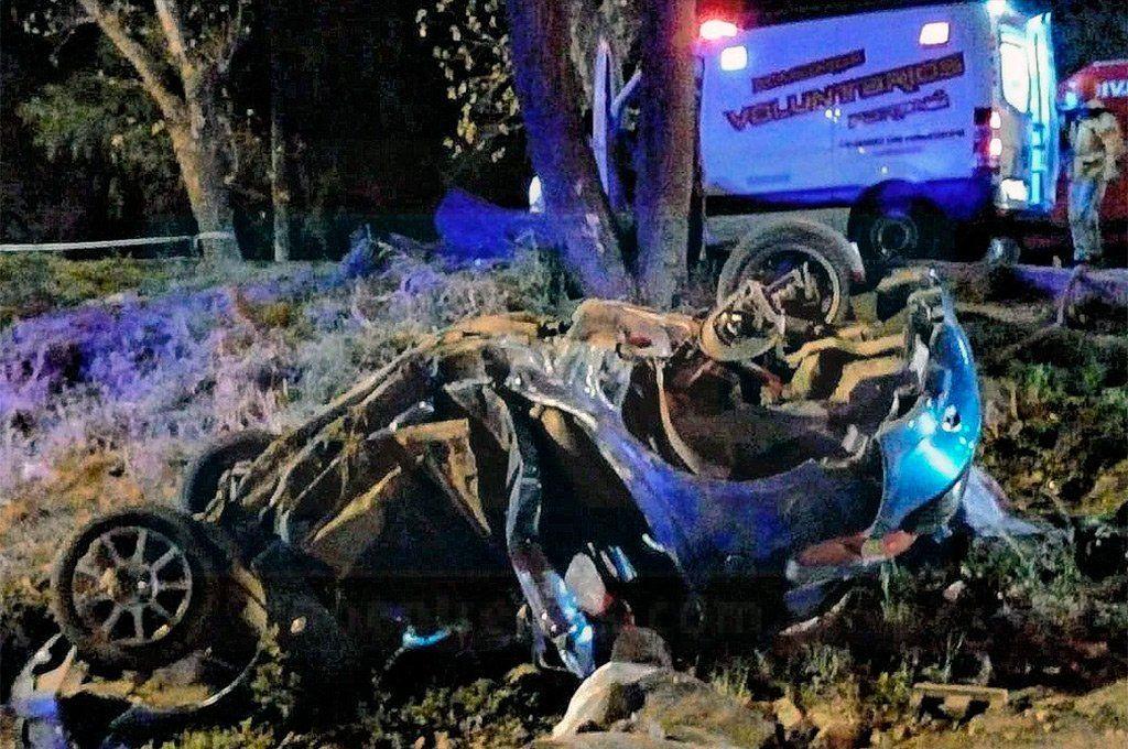 Paraná: tres muertos en un choque y vuelco a alta velocidad