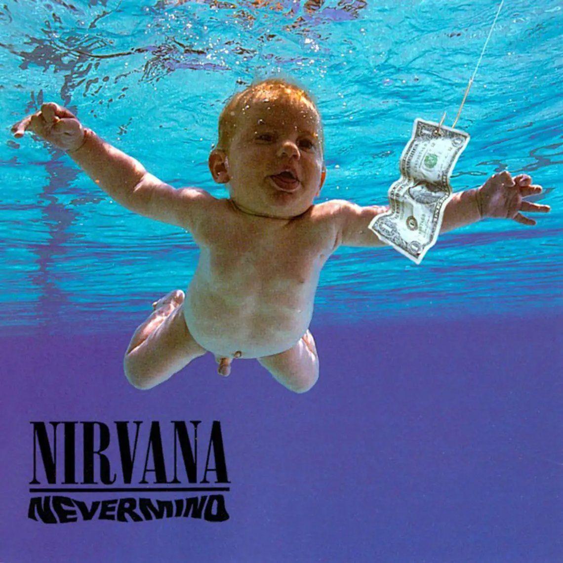 El bebé de la tapa de Nevermind demanda a Nirvana por pornografía infantil
