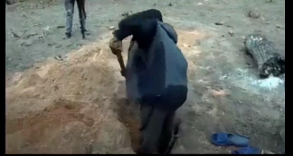 Un pastor quiso resucitar como Jesús, pero murió