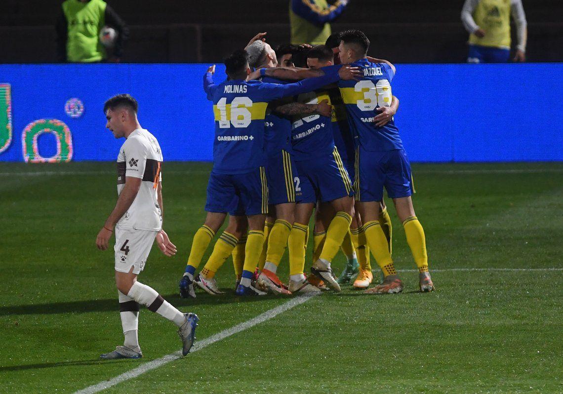 Las mejores fotos del triunfo de Boca ante Platense