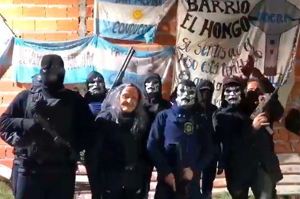 Supuestos seguidores del sindicalista de la construcción Pata Medina amenazan con matar al juez. Captura.