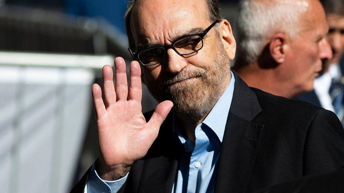 Fernando Iglesias se volvió viral en las redes tras un polémico gesto durante un acto de María Eugenia Vidal.