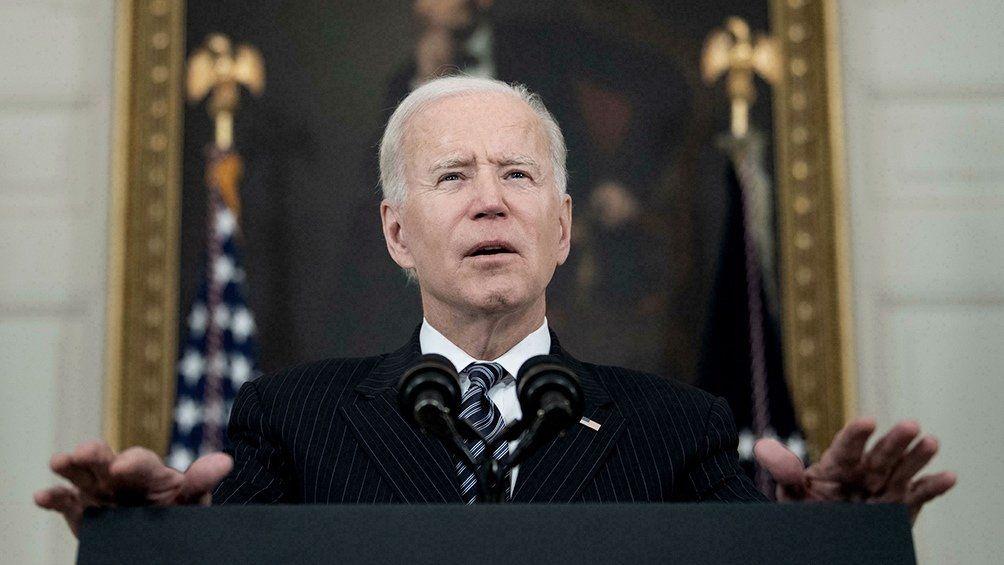 Biden condenó los atentados.