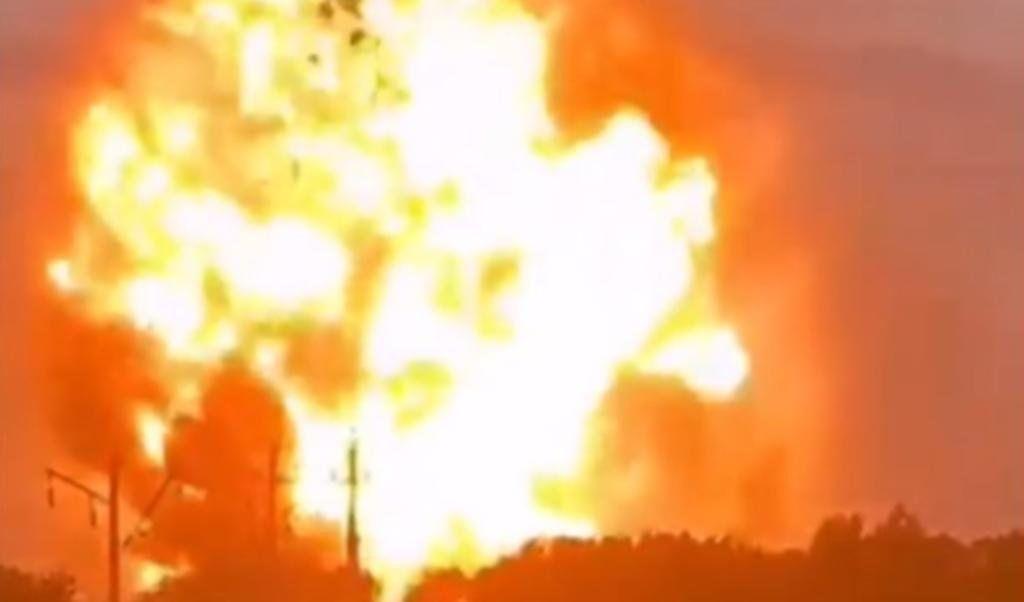 Incendio y explosión.