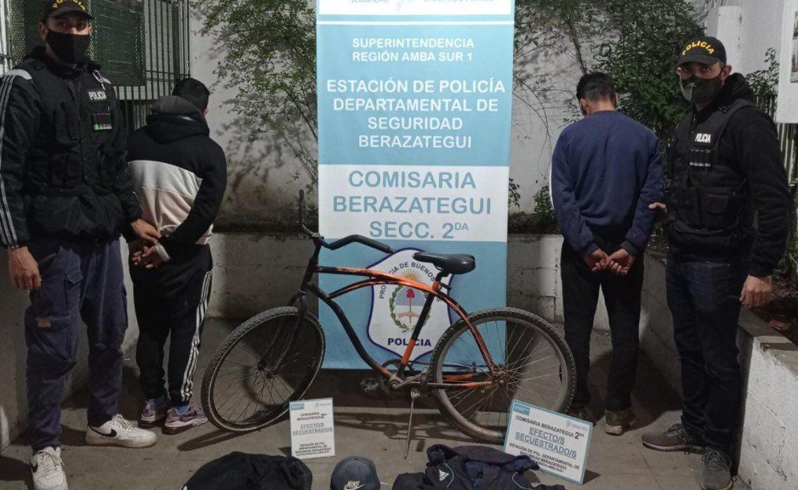 Berazategui: se logró la aprehensión de los sospechosos