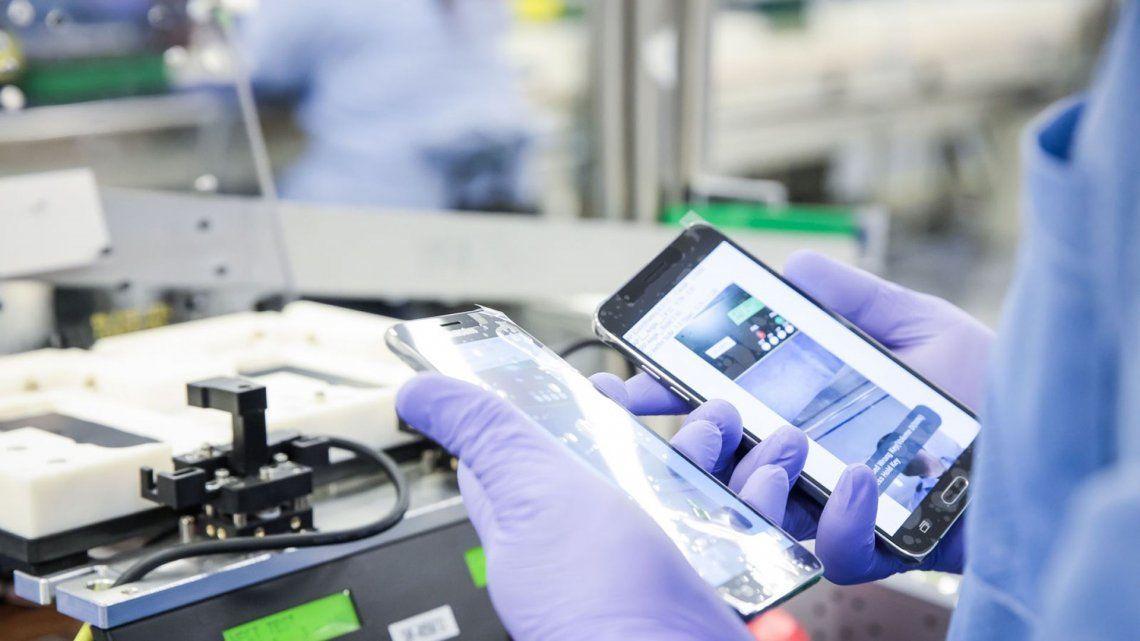 La producción de celulares, televisores y aires acondicionados se disparó el primer semestre