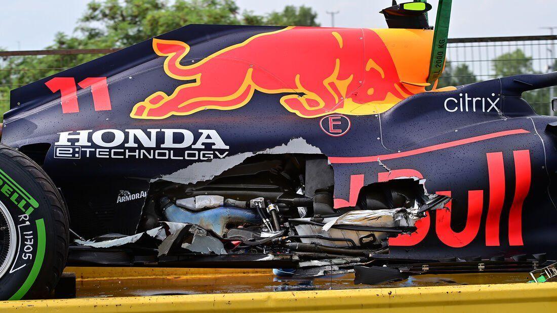 Así quedó el Red Bull de Verstappen en la previa de una nueva carrera de Fórmula 1