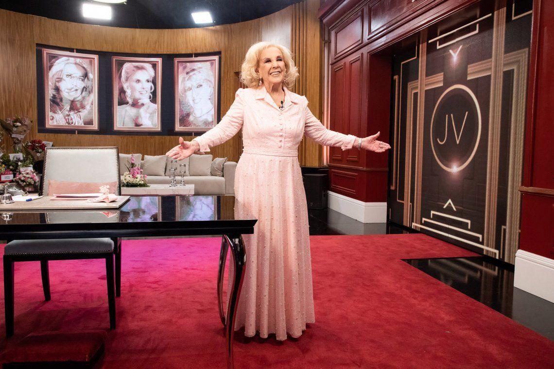 Mirtha Legrand volvió a la Televisión