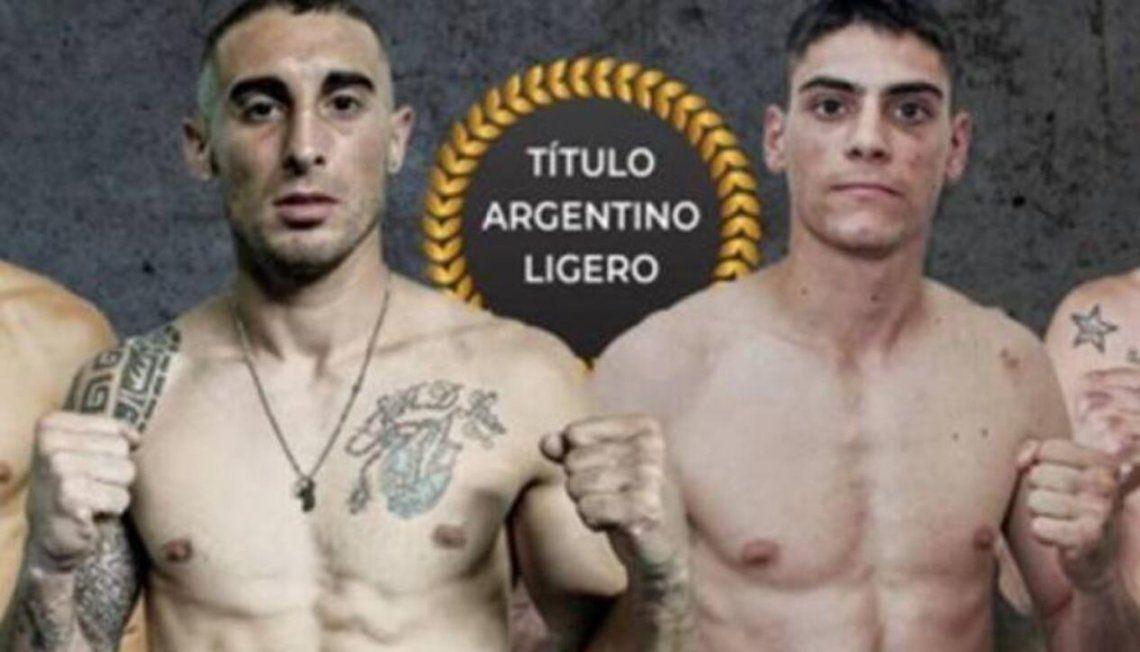 Daneff le ganó a De León y es el nuevo campeón argentino ligero