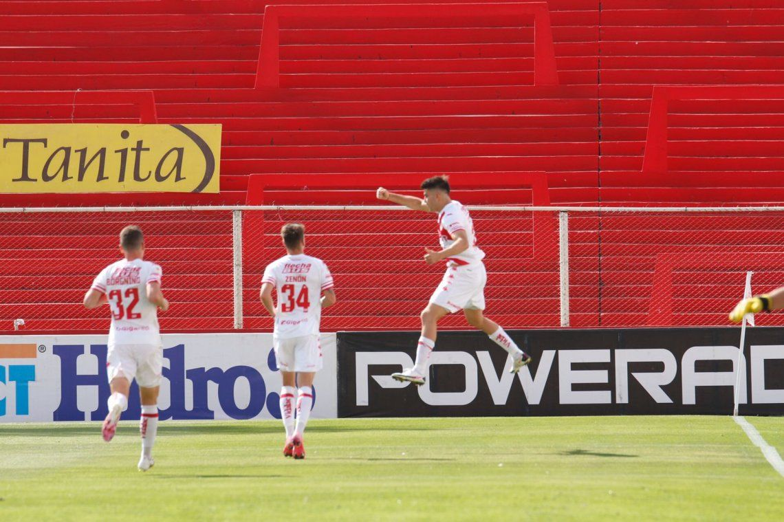 El único gol del encuentro lo convirtió Nicolás Cordero