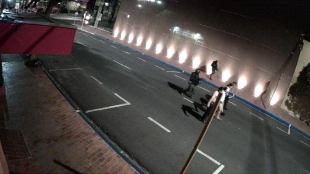 Violento episodio en San Pablo.