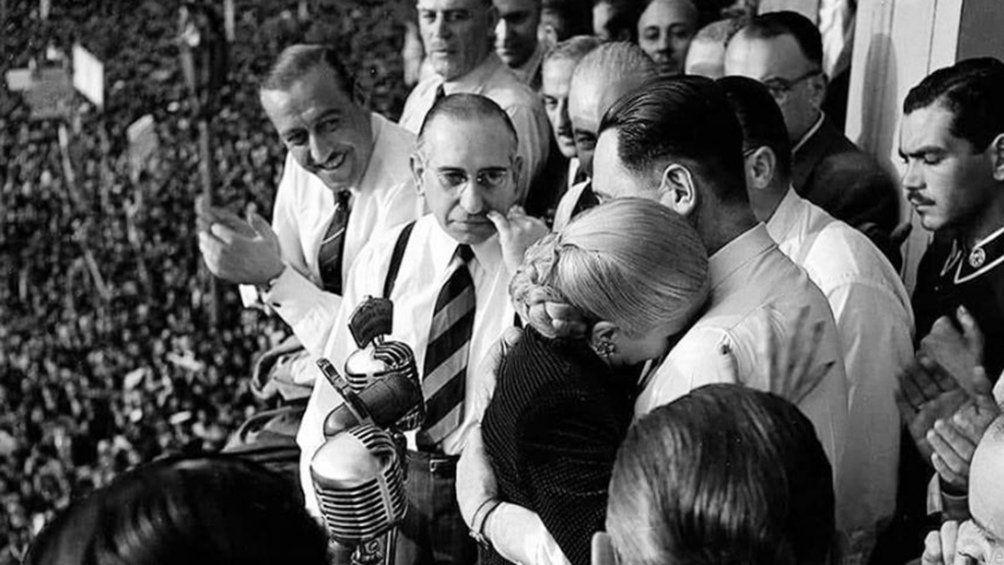 Hace 70 años Evita renunciaba a la fórmula presidencial y se lo recuerda con actos
