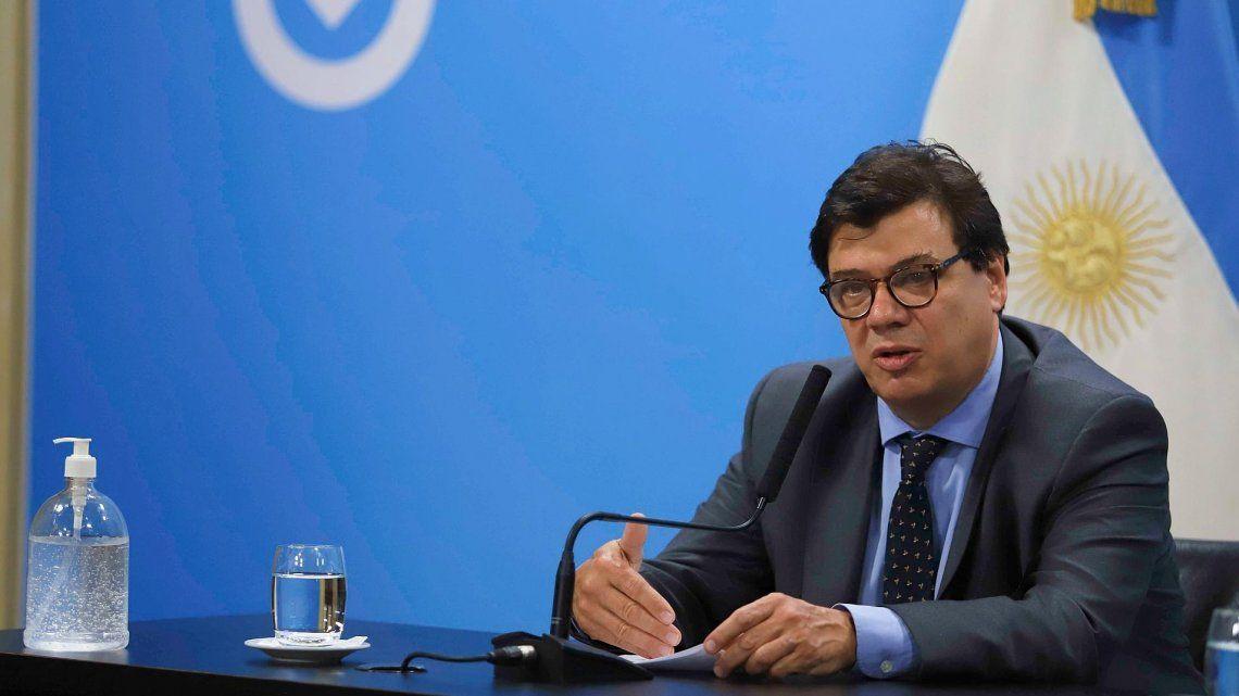 Moroni ratificó con que el Gobierno no va a impulsar una reforma laboral.