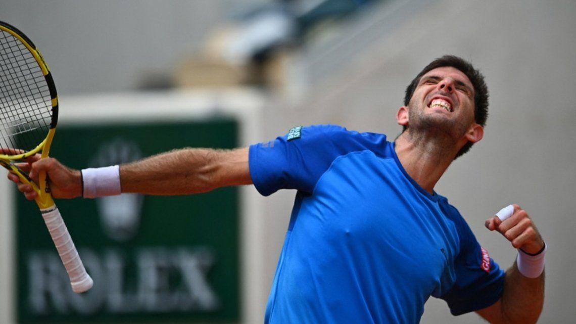 Federico Delbonis quedó eliminado del US Open.