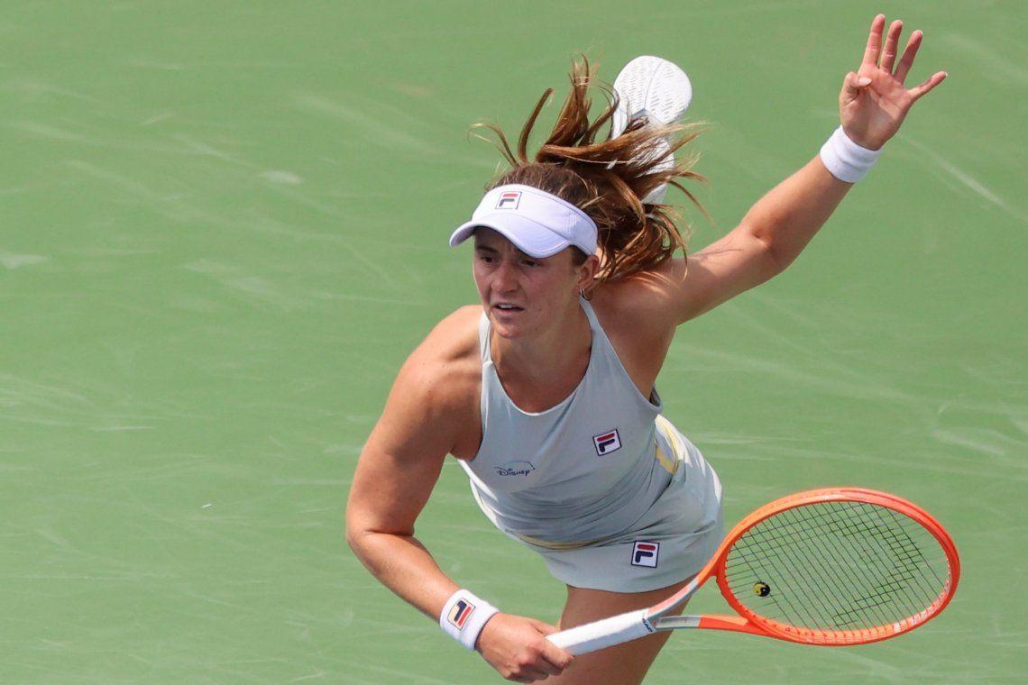 Nadia Podoroska se fue temprano del US Open