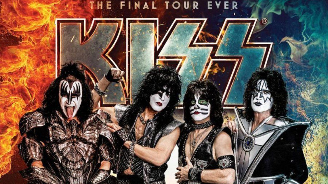 Kiss canceló shows por coronavirus positivo de Gene Simmons.
