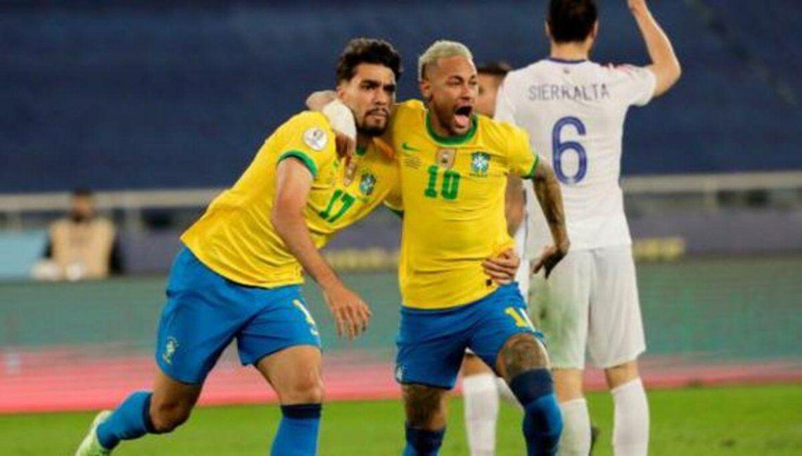 El líder Brasil visita a Chile en el regreso de las Eliminatorias.
