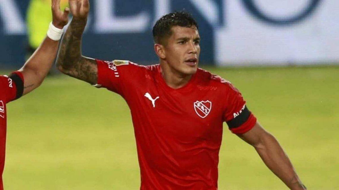 Lucas Romero formó parte de los ensayos futbolísticos de este miércoles.