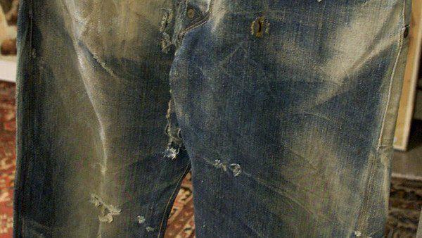 Centenario jean hallado en Estados Unidos.