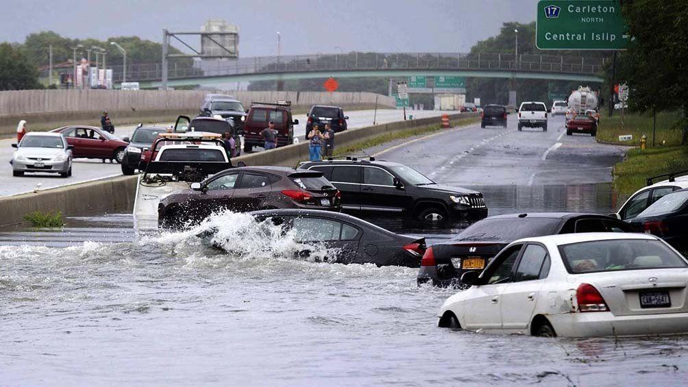 Inundaciones en Estados Unidos.