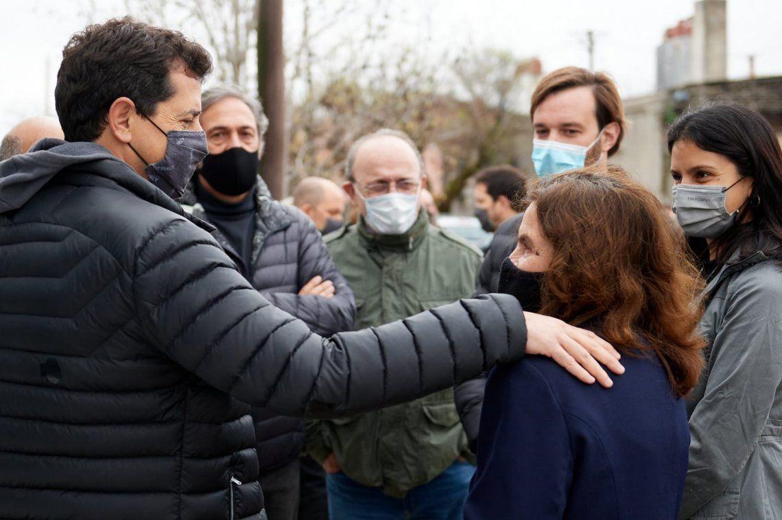 Frente de Todos: Ministros salen a repartir boletas