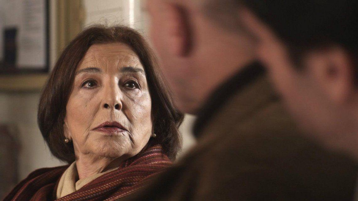 "Lantieri se destacó también en la telenovela ""Rosa de lejos""."