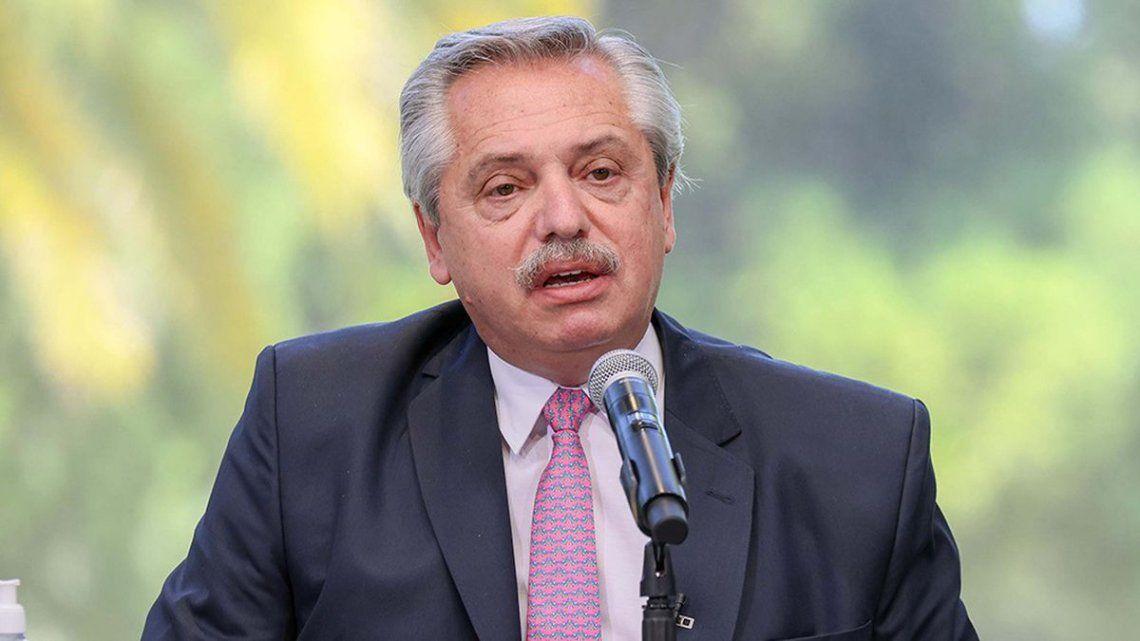 Alberto Fernández defendió las restricciones al sector.