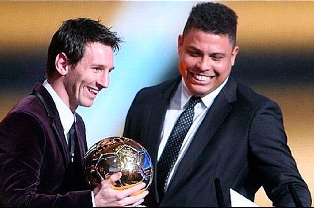 Ronaldo y Messi juntos