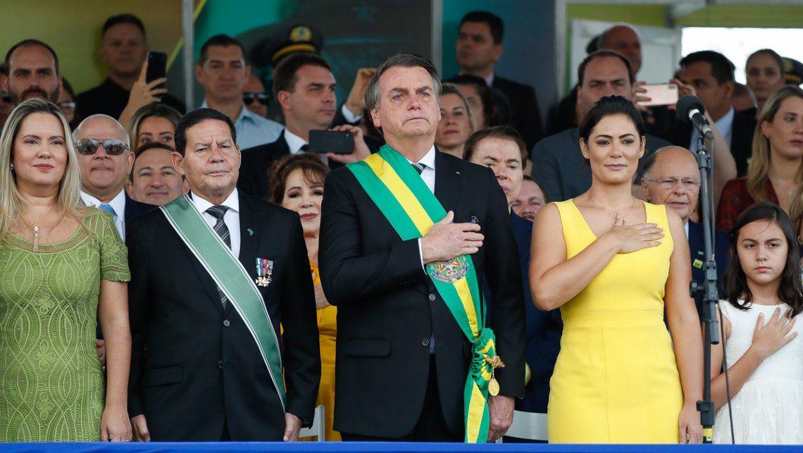 Jair Bolsonaro encabezó un acto con duras advertencias al Supremo Tribunal Federal.
