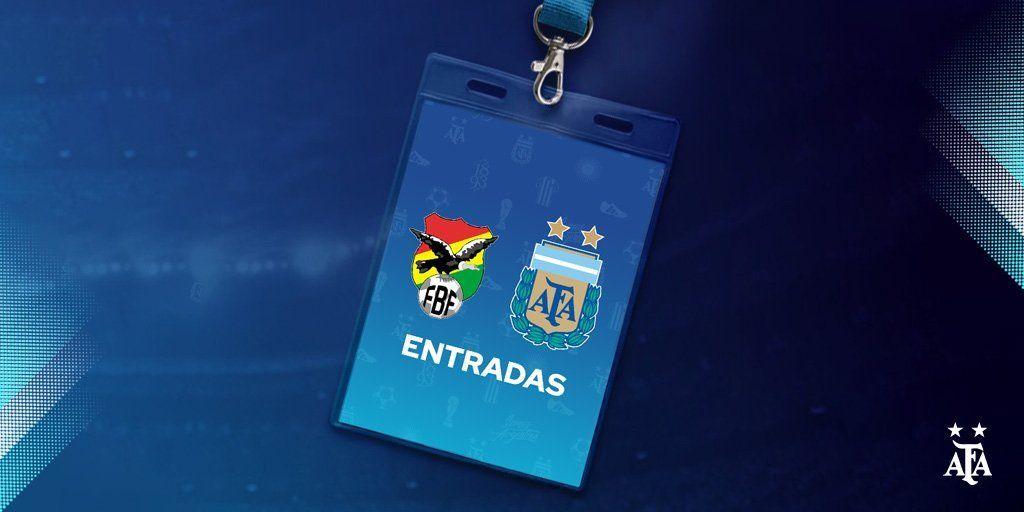 Entradas agotadas para Argentina - Bolivia