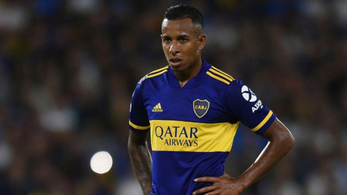 Villa volvió a entrenarse con el plantel de Boca Juniors