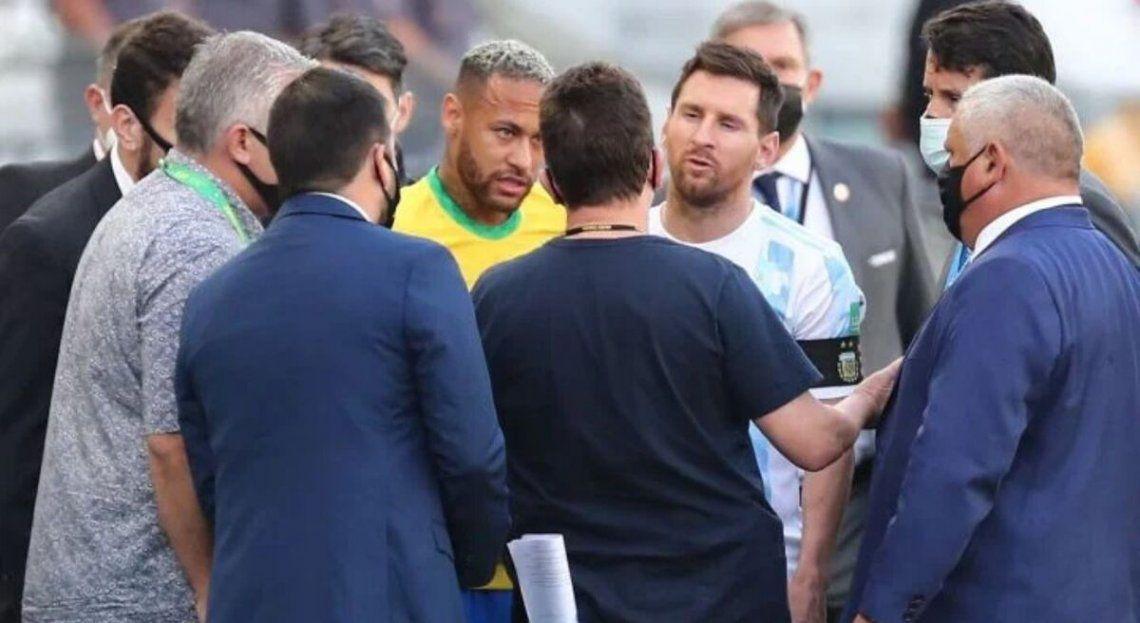 El momento justo del escándalo en Brasil - Argentina
