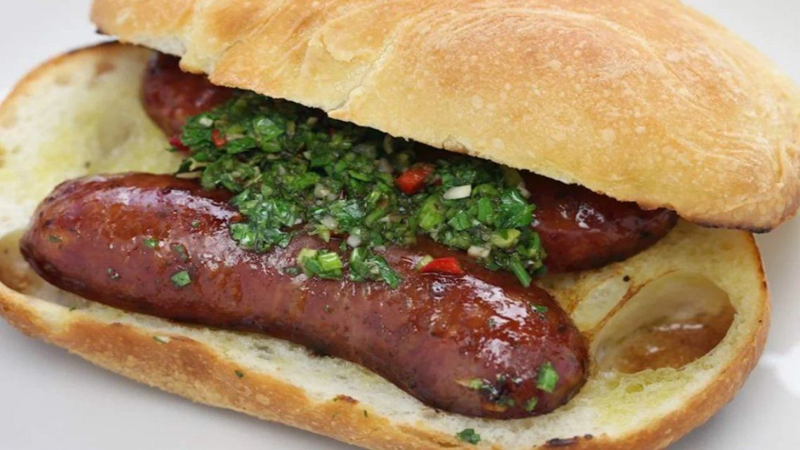 El choripán fue elegido entre los 5 mejores sándwich del mundo