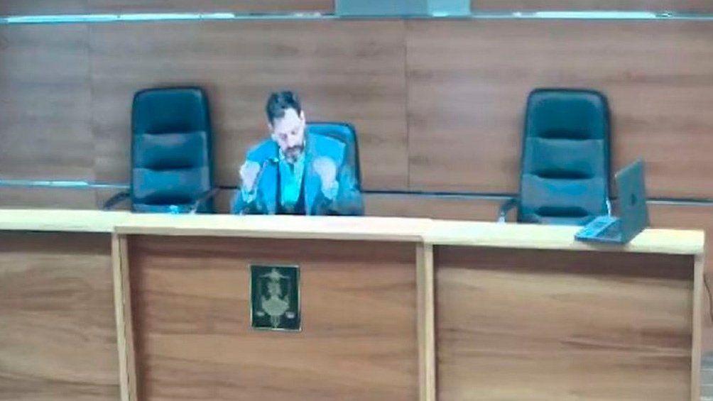 El juez suspendido.